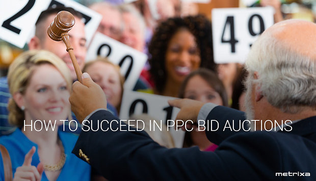 How to succeed in PPC bid auctions